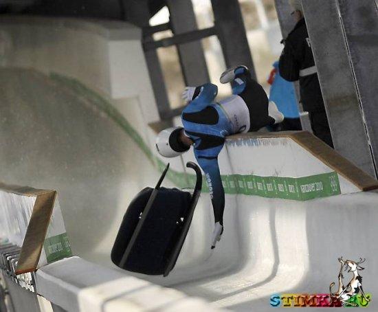 Трагедия на олимпийской трассе
