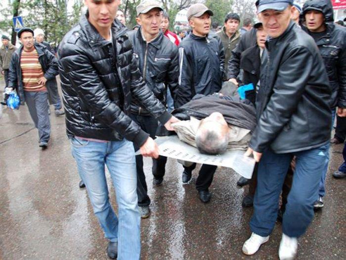 Восстание в киргизии