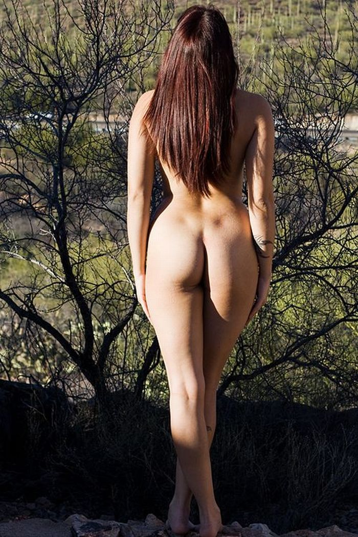 Фото Обнаженных Полных Девушек Вид Сзади