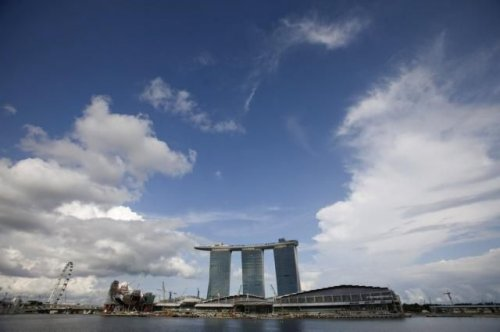 Новое чудо света Marina Bay Sands