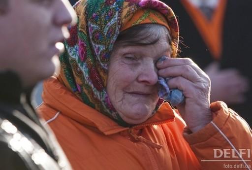 Умерла символ Оранжевой революции баба Параска