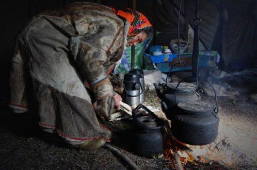 Видео как живут чукчи на севере
