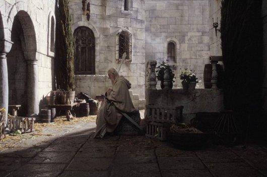 На съемочной площадке фильма Властелин колец