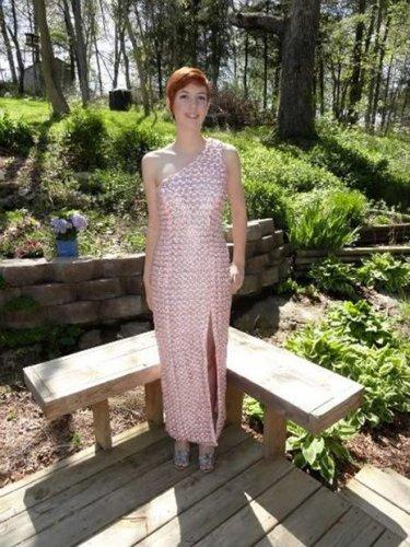 Платье из пивных банок