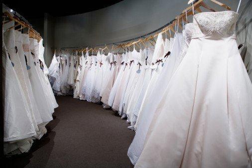Креативное свадебное платье