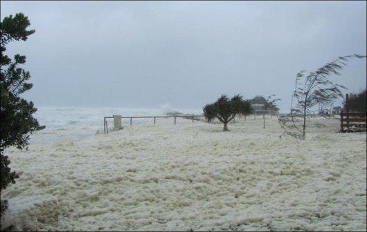 Снег в Австралии?