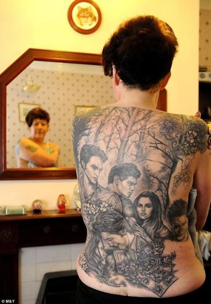 Татуировки биссексуал