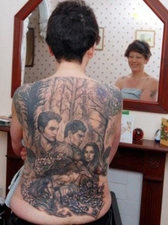 Татуировка героев фильма Сумерки