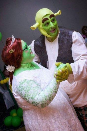 Свадьба в стиле Шрека