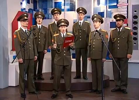 Хор Русской армии поет Skyfall