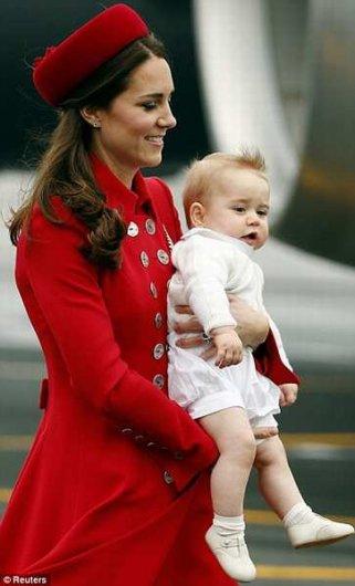 Фото сына Принца Уильяма и Кейт Миддлтон крупным планом