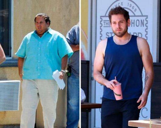 Похудевшие люди: до и после